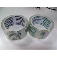 China Heat Resistant BOPP Packaging Tape Transparent Arylic For Carton Sealing wholesale