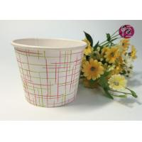 China 4oz Top 77mm Single PE Coated Disposable Soup Cups For Noodle Soup wholesale