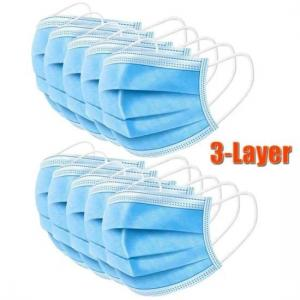China Health Protective 3 Ply Non Woven Face Mask dustproof For Blocking Dust Air wholesale