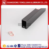 Buy cheap Anodized black aluminum profiles for door and window design,aluminum profile from wholesalers