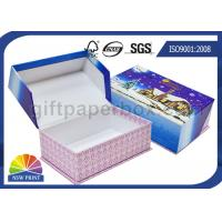 China Rigid Cardboard Clamshell Soap Gift Paper Box Printing for Christmas Promotion on sale