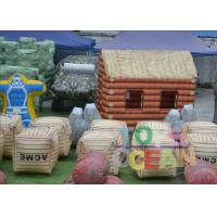 China 0.9mm PVC Inflatable Paintball Bunkers wholesale