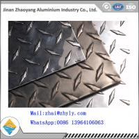 Quality 3003 H14 Ribbed Aluminum Sheet  / Aluminum Tread Plate For Refrigerator / Solar Air Conditioner for sale