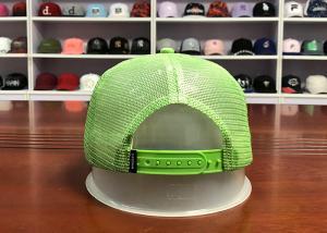 China ACE Custom Logo Unisex 5 panels Rhinestone Embroidery Multispandex Fabric Snapback Trucker Mesh Cap wholesale