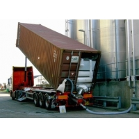 China ISO9001 SS316 42T/H 40GP Container Unloading System wholesale