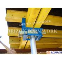 China Q235 Steel Slab Formwork Systems Table Head 230*145mm To Clamp Double H20 Beams wholesale