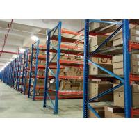 China Heavy Duty Wire Pallet Rack Galvanized Steel  Corrosion Protection With Wire Mesh Decking on sale