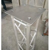 China 350*350*8mm Aluminum Spigot Plate Table for Beam  Lights on 1 Meter Truss wholesale