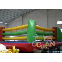China PVC Adults Inflatable Sport Game Inflatable Boxing Ring Field Box Arena wholesale