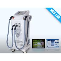 IPL Peak Power 2000W Medical CE Approved High Quality 2 Handles IPL Hair Removal Equipment Net Weight 45Kgs