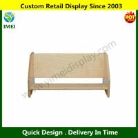 China Tabletop Book Display, All-Birch Veneer Panel, 4-Coat UV Acrylic YM6-109 wholesale