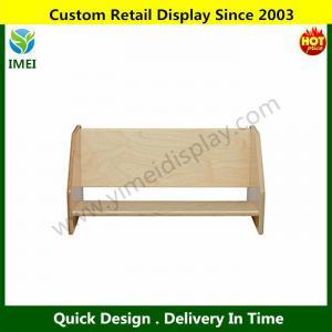 Buy cheap Tabletop Book Display, All-Birch Veneer Panel, 4-Coat UV Acrylic YM6-109 from wholesalers
