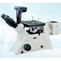 China Trinocular Head Inverted Metallurgical Microscope With Digital Camera interface wholesale