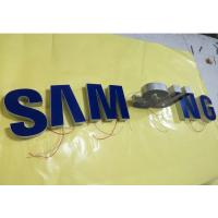 China Samsung Epoxy Resin Lighted Channel Letters , Injection Plastic Wall Mounted Letters wholesale