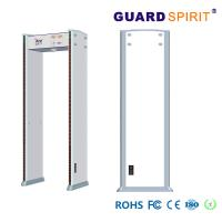 China Counter Record Army Walkthrough Metal Detector Gate With Battery Backup wholesale