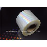 China Anti Fake BOPP Holographic Laser Flexible Packaging Film Multiple Extrusion Thickness wholesale