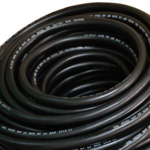 Quality Custom rubber hose high pressure fuel line SAE 100 R6 hydraulic hose for sale