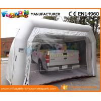 China PVC Tarpaulin Inflatable Party Tent Paint Spray Booth Inflatable Car Wash Tent wholesale