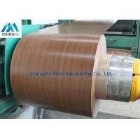 China Embossed Pre Painted Galvanized Steel Coils Ppgi Coil DIN EN1032 ASTM A653 wholesale