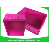 China Top Plastic Solid Euro Stacking Containers Reusable For Fruit And Vegetable wholesale
