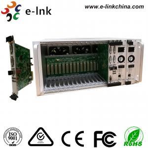 China 5U 16-Slot Rack Mount Card Type 4K DVI KVM Video to  Fiber Converter with Two-Year Warranty wholesale