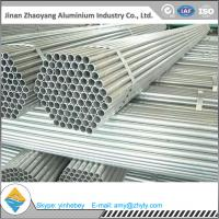 Quality Polished Aluminum Oval Tube Rectangular / Square Aluminum Profiles 6063 for sale