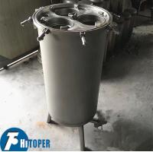 China Large Capacity Multi Bag Filter Housing , Energy Saving Wastewater Filtration Machine on sale