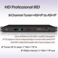 China Eight-Channel HD Professional IRD DVB-T/DVB-S2/ DVB-S/DVB-C, and ISDB-T Receiver RIH1308 on sale