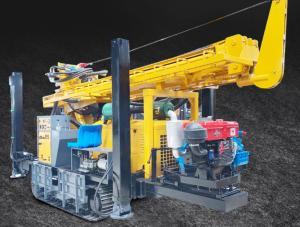 China Large Diameter Crawler Type St 350m Portable Borewell Drilling Machine wholesale
