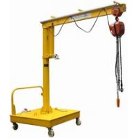 China Movable Motorized Rotation Jib Cranes For Position A Load wholesale
