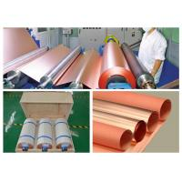 China 2 OZ Single Side Black Back Copper Foil , Resin Board Copper Sheet Roll wholesale