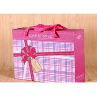China Handmade Gift Packing Box Rectangle Shape , Paper Gift Box  240*200*85 mm Size on sale