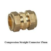 China compression fitting straight 15mm for copper pipe wholesale