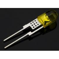 Buy cheap 1W round yellow lens super yellow lighting led diodes from wholesalers
