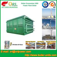 China Heat Insulation Boiler Stack Economizer In Thermal Power Plant Diesel Fuel wholesale