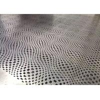 China Shapeable Customized Hollow Perforated Aluminum Panels Internal Cladding Panels wholesale
