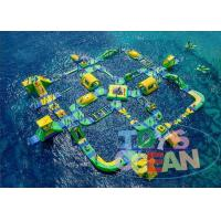 Quality Giant Commercial Inflatable Water Park For Children Floating CE for sale