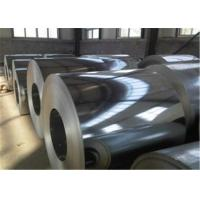 China OEM Boron Added Hot Dip Galvanized Steel , GI steel coil anti - fingerprint for oil construction wholesale