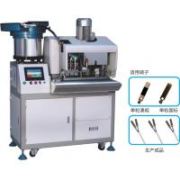Buy cheap Automatic Feeding Single Terminal Machine/Terminal Crimping Machine/Copper Terminal Crimping Machine from wholesalers