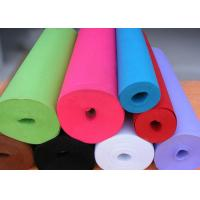 China Green Needle Punched Non Woven Rolls Non Woven Cleaning Cloths wholesale