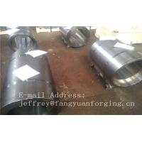 Quality Normalized Forged metal sleeve Rough Turned ST52-3 S355J2G3 P355GH for sale