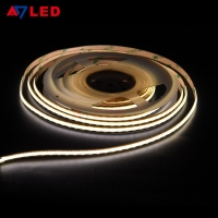 China Free Cuttable Floor Linear Light High Density Brightness No Spot COB FPC Flexible 5M LED Light Strip wholesale