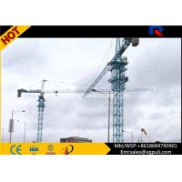 China Mini Hammerhead Tower Crane 1 Ton Tip Load 41m Free Standing Height wholesale