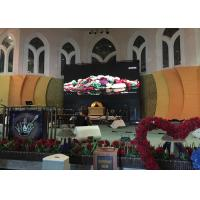 China Indoor LED Stage Video Screen P2.5 , SMD2121 LED Video Display Wall For Church on sale