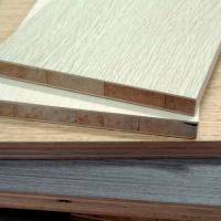 China Wooden Grain Color Melamine Blockboard for Wordrobe wholesale