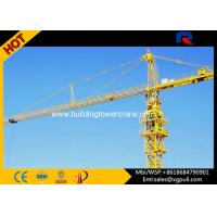 Quality Hammerhead Fixed Tower Crane , Large Construction Cranes 30M Freestanding Height for sale
