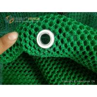China Green PET Wind Screen Fence for Petroleum Coke Dust Control | Dust Control Fence wholesale