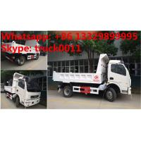 2017s new cheapest price dongfeng 4*2 LHD 3-5tons dump tipper truck for sale, factory sale dongfeng LHD tipper truck