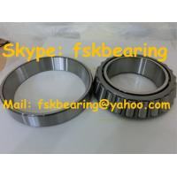 China Black Chamfer Corner Tapered Roller Bearings Chrome Steel Cage wholesale