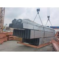 China Hot - Dip Galvanized Workshop Steel Structure Of  Galvanized C & Z  Purlins wholesale